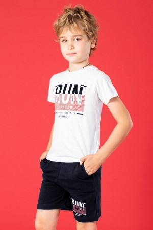 Boys Shorts Suit Run Printed Ages 2-5