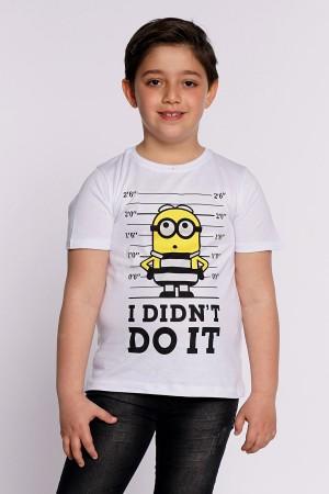 Boys T-Shirt I Didnt Do It Printed