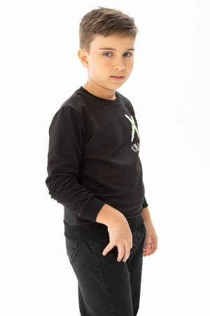 Boys Long Sleeve Sweatshirt Charming Printed 3-7 Years