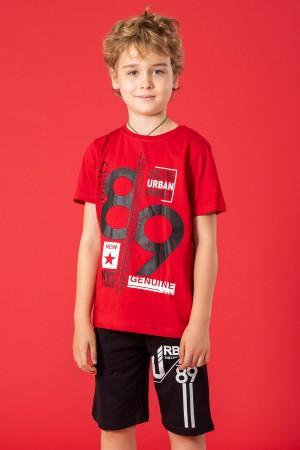 Boys Capris Suit 89 Printed Ages 9-12