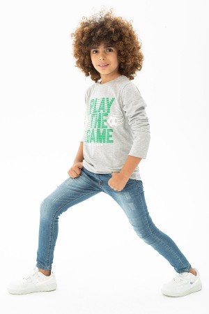 Men's Play The Game Printed Sweatshirt Ages 9-12