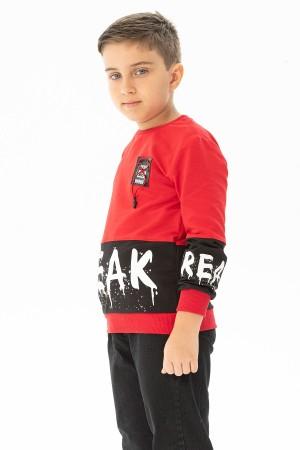 Boys' Break Rules Printed Sweatshirt Ages 8-12