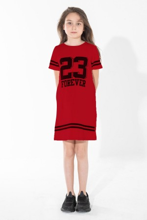Girls' Tunic 23 Forever Printed Ages 5-12