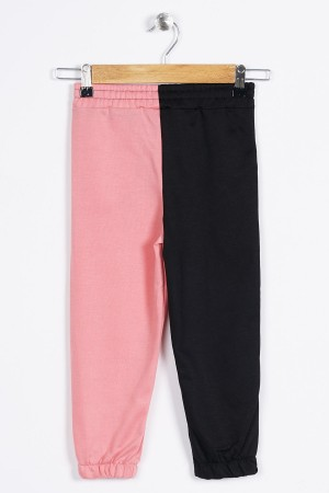 Girls' Two-Color Sweatpants 6-12 Ages