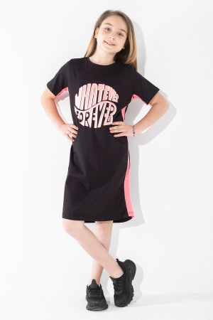 Girls' Dresses Whatever Forever Printed 9-12 Ages