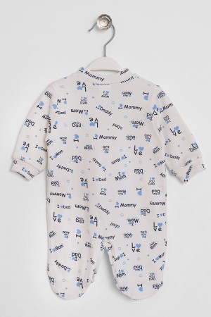 Baby Rompers I Love You Printed