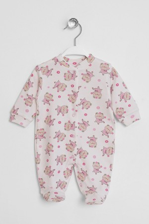 Baby Jumpsuit Bear Printed