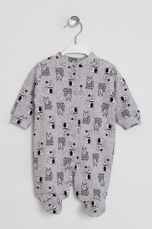 Baby Rompers Dog Printed