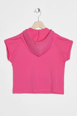 Girl's T-Shirt Love The Life Printed
