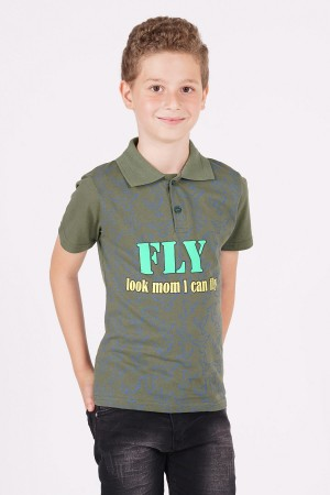 Boys T-Shirt Fly Printed 8-12 Years