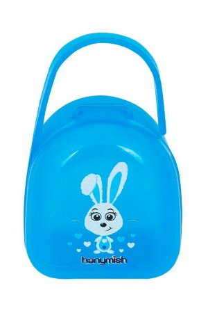 Pacifier Storage Container Blue
