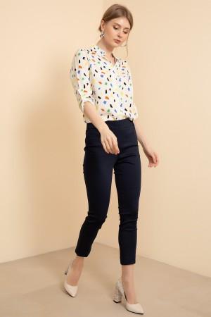 Waist Elastic Trousers