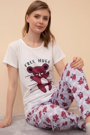 Short Sleeve Pajamas Set