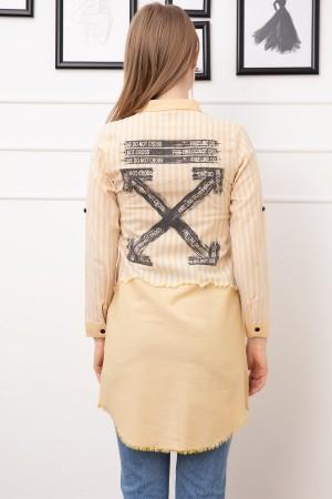 Printed Tunic Shirt