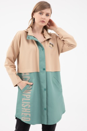 Two Color Printed Trench