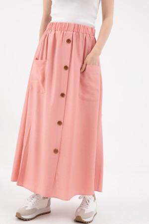 Pocket Long Skirt