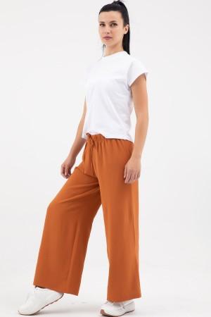 Wide Cut Trousers