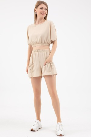 Shorts Crop Set