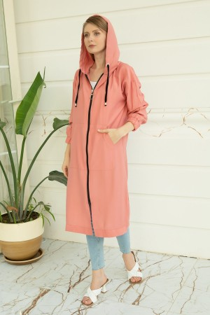 Pocket Hooded Trench