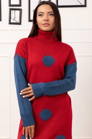 Turtleneck Knitwear Tunic