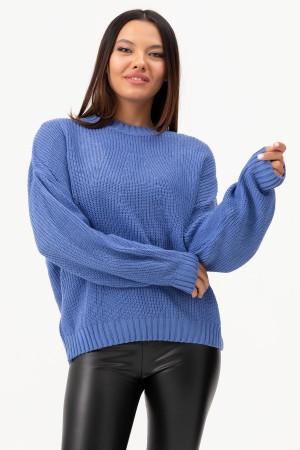 Zero Collar Knitwear Sweater