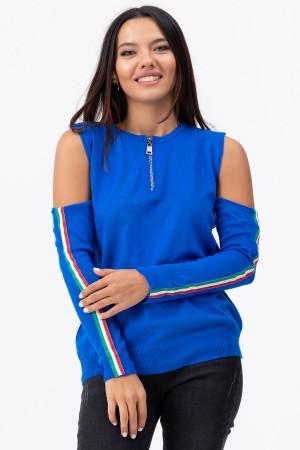 Zipper Knitwear Sweater