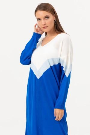 V Neck Knitwear Tunic