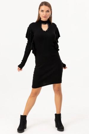 Sleeve Detailed Dress