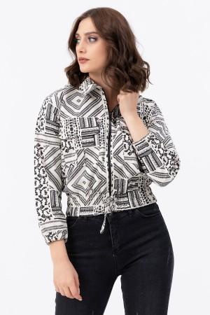 Zipper Pocket Jacket