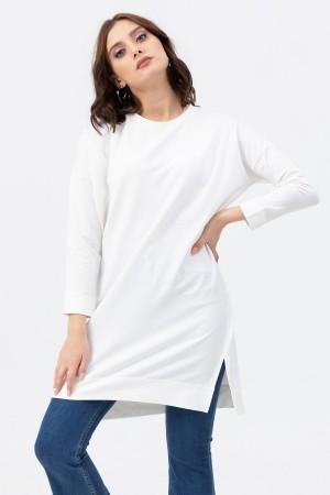 Zero Collar Oversize Tunic