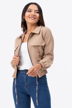 Zipper Short Jacket