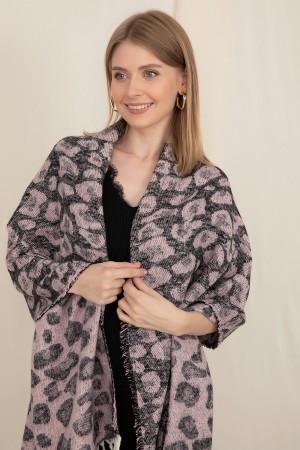 Leopard Patterned Shawl
