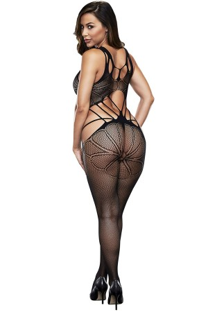 Special Area Open Pattern Sexy Body Stocking