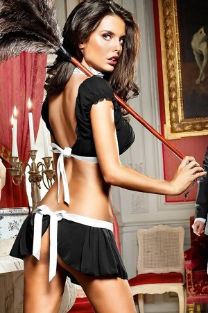 Sexy Maid Costume Fancy Clothing