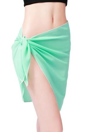 Mint Green Tulle Pareo