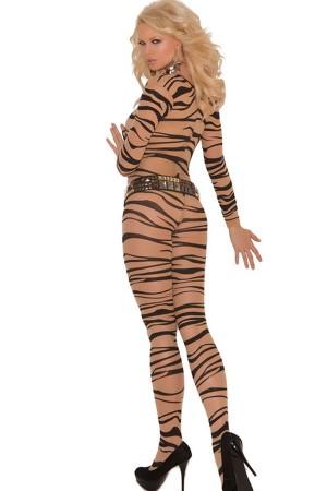 Body Stocking Leopard Fancy Wear