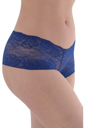 Sax Blue Lace Women's Panties ML7002
