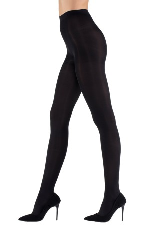Super thin 15 Denier Trousers Socks Black