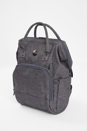 Mother Baby Care Bag Lux Steel