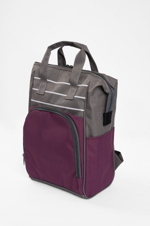 Mother Baby Care Bag Lot Plum