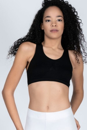 22999-women Black Sports Bra