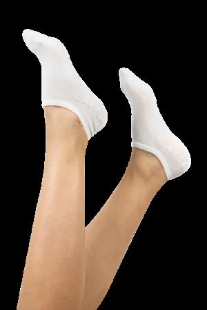 Gray White Black 3 Pack Booties Socks