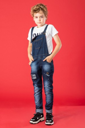Boys Trousers Salopet Sniper Embroidered