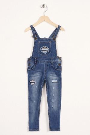 Boy Jeans Loose Denim Embroidered
