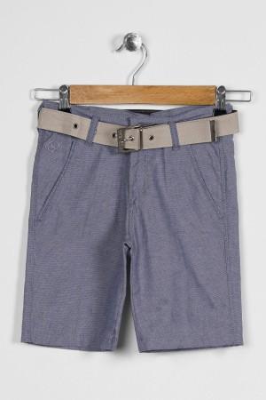 Boy Capri Belt Pitikare Patterned
