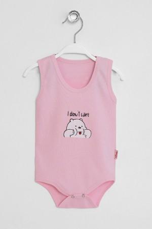Baby Strap Snap Fastener Body Bear Printed 3-36 Months