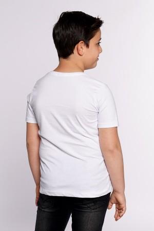 Boys Tshirt Impostor Printed Ages 6-9