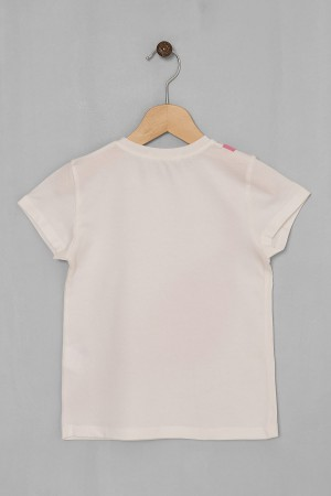 Girl's Tshirt with Watermelon Slice Printed Ages 5-8